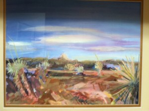 painting desert stolen july 12
